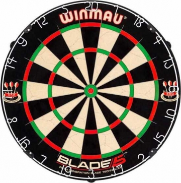 Winmau Blade 5 Dual Core - review test