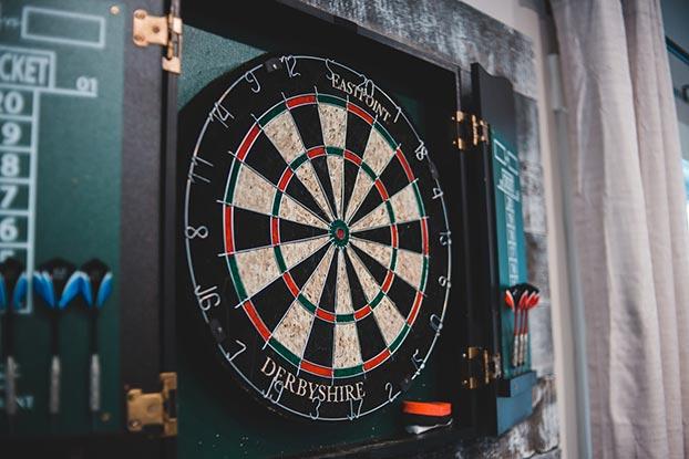 dartbord kiezen
