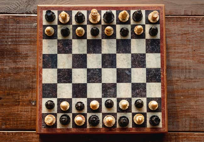 houten schaakbord kopen