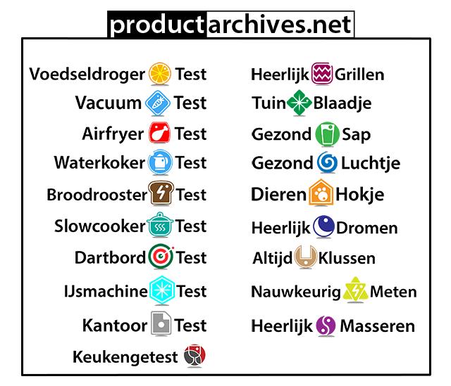 Productarchives dartbordtest